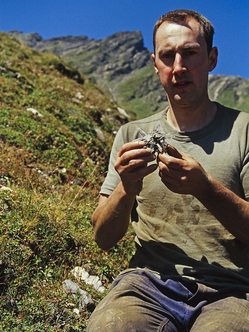 Markus Beck mit Bergkristallstern